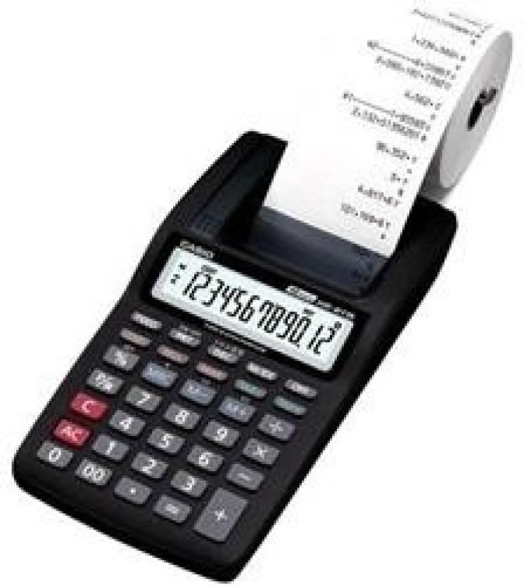 Casio HR-8TM-BK Printing  Calculator