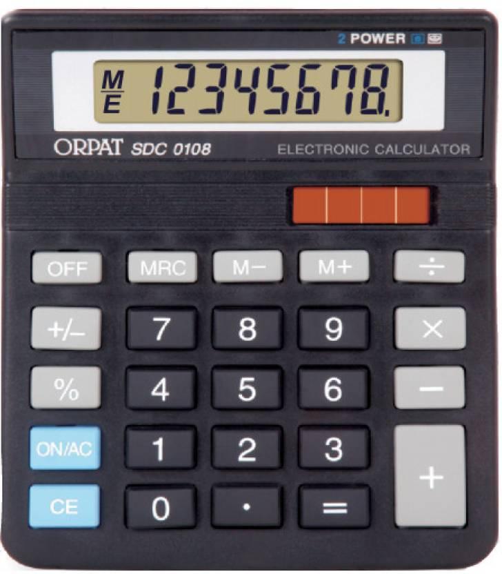 Orpat SDC0108 Basic  Calculator