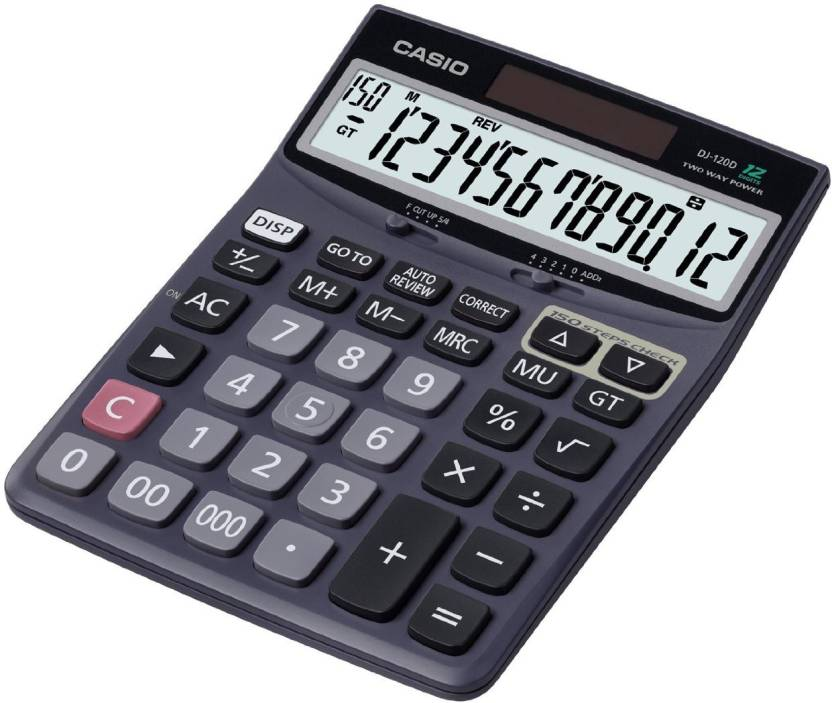 Casio DJ-120D Basic  Calculator