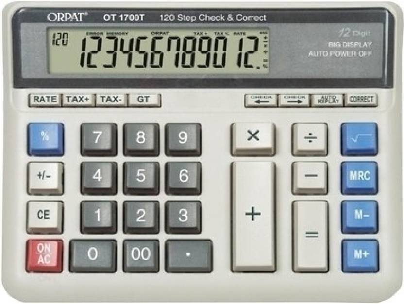 Orpat OT 1700T Basic  Calculator