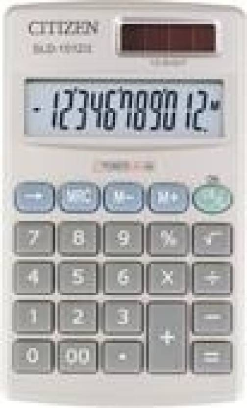 Citizen SLD-1012 Basic  Calculator