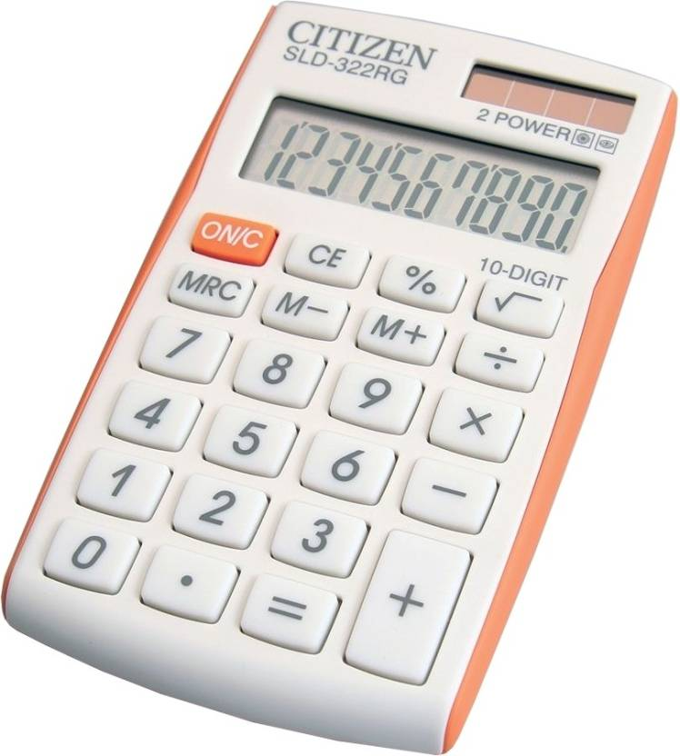 Citizen SLD-322 RG Basic  Calculator