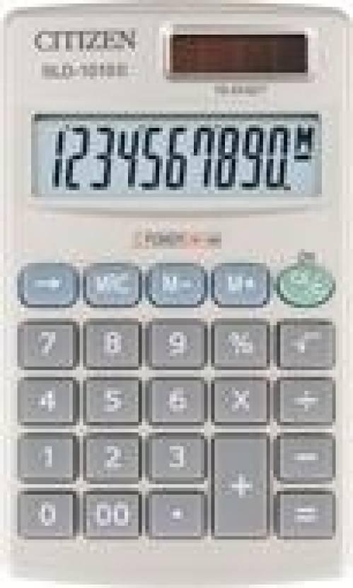 Citizen SLD-1010 Basic  Calculator