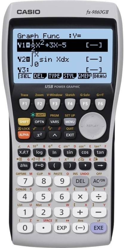 Casio fx-9860G- II Scientific  Calculator