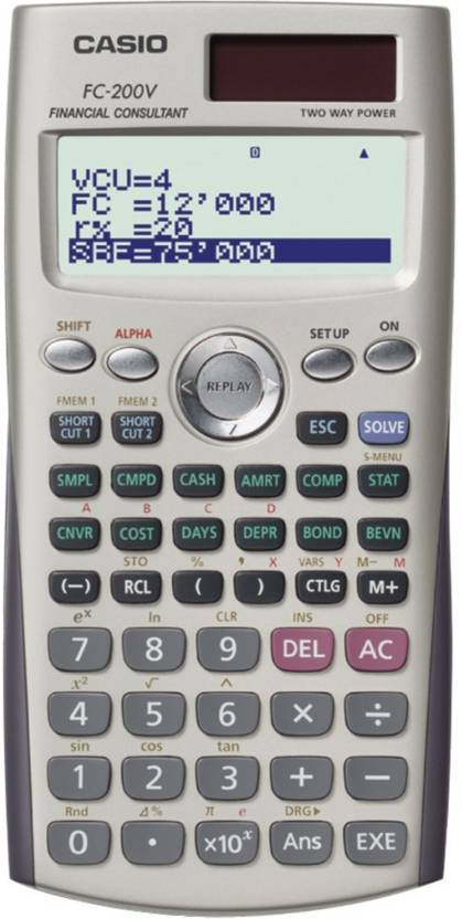 Casio FC 200V Financial  Calculator