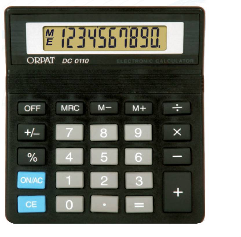 Orpat DC0110 Basic  Calculator