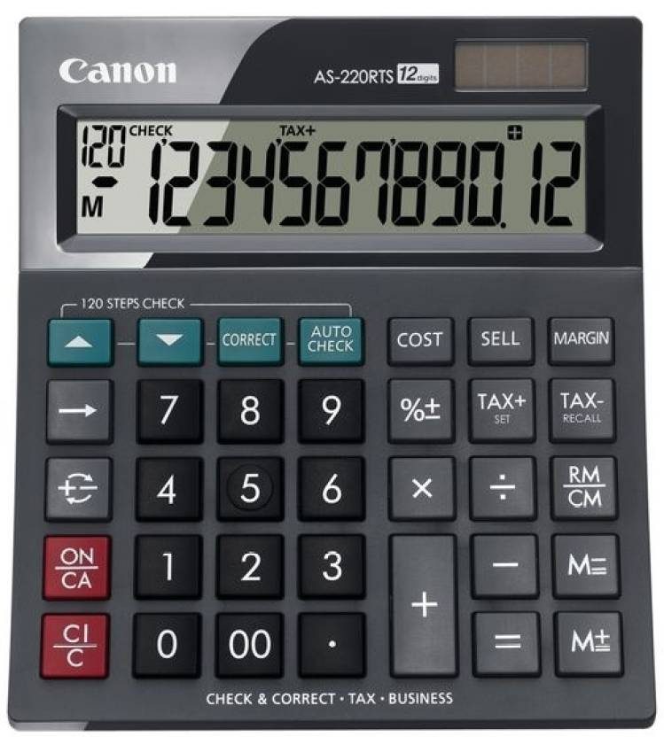 Canon AS 220RTS Basic  Calculator