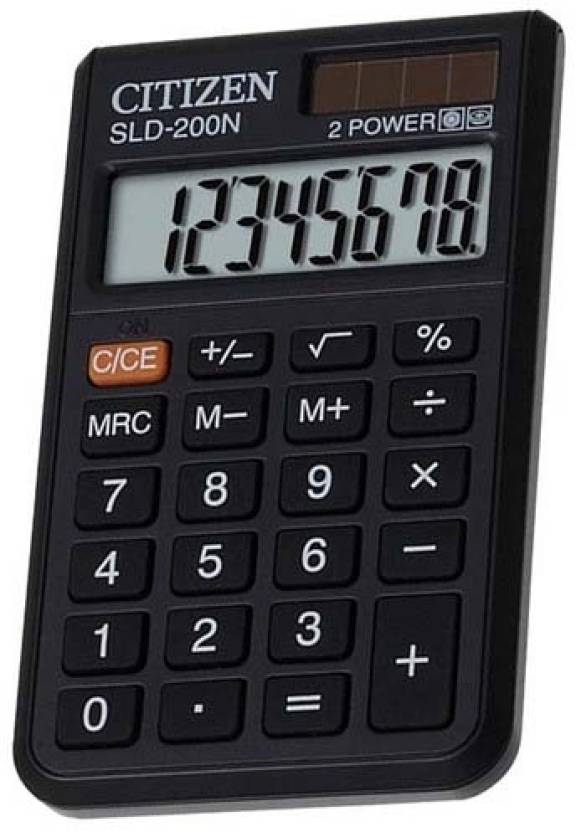Citizen SLD-200 N Basic  Calculator