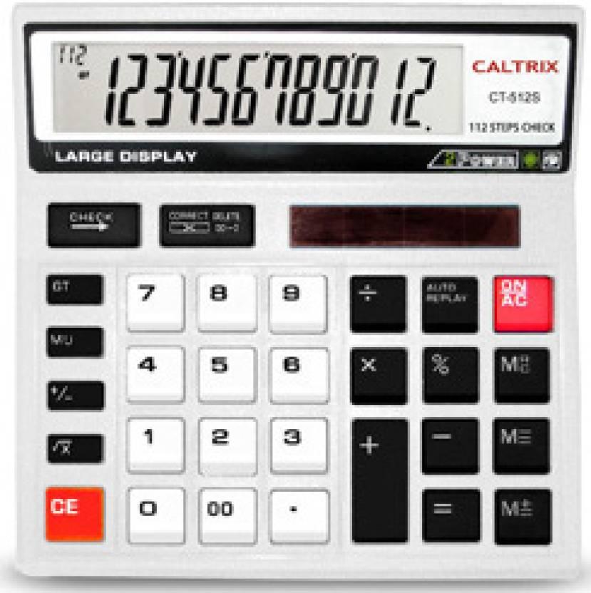 Caltrix CT-512S Basic  Calculator