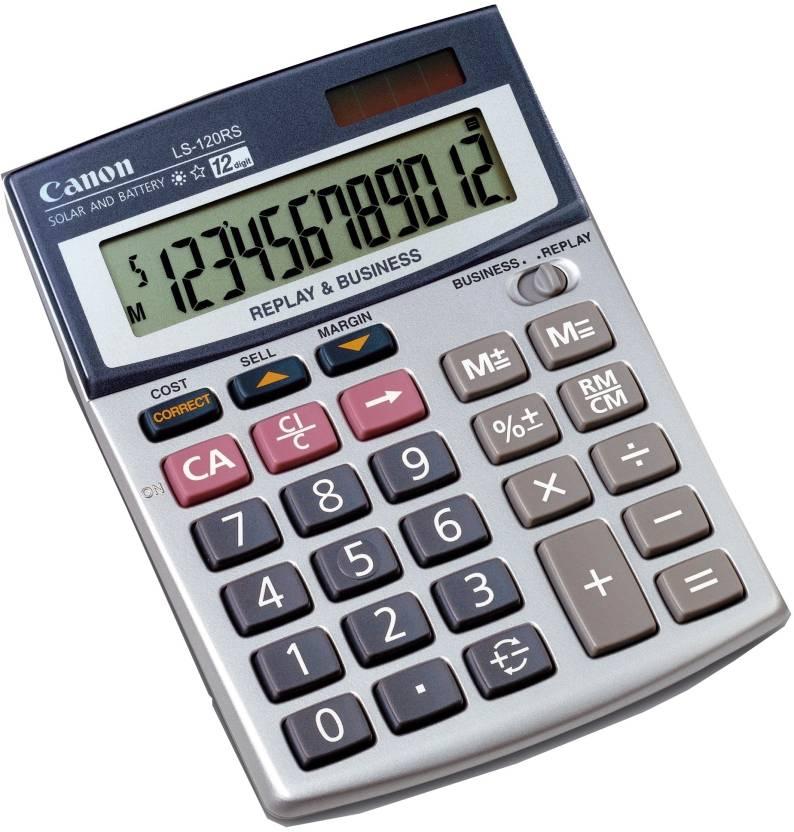 Canon LS-120RS Basic  Calculator