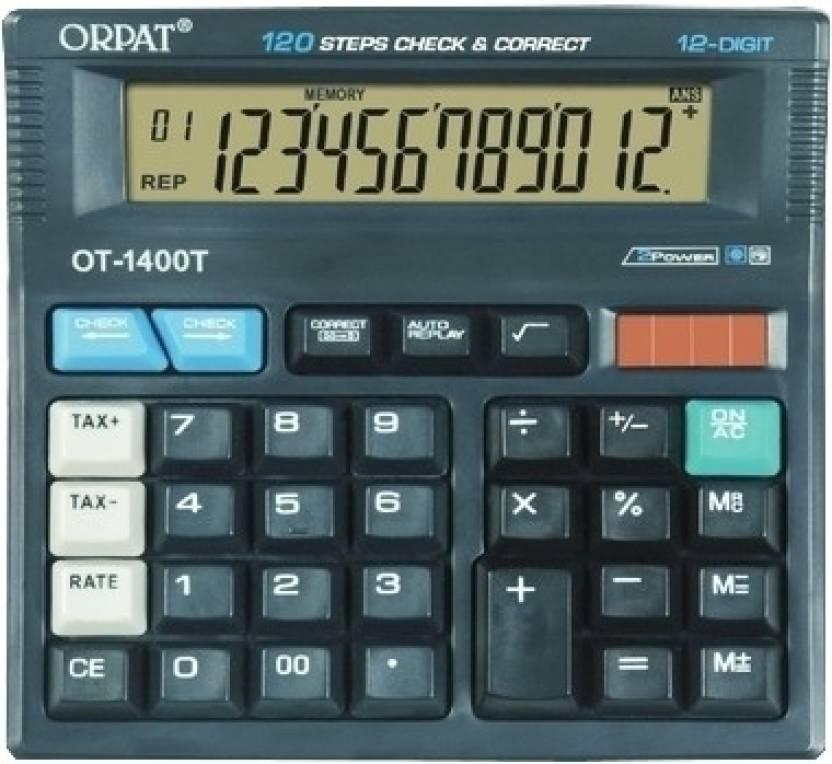 Orpat OT 1400T Basic  Calculator