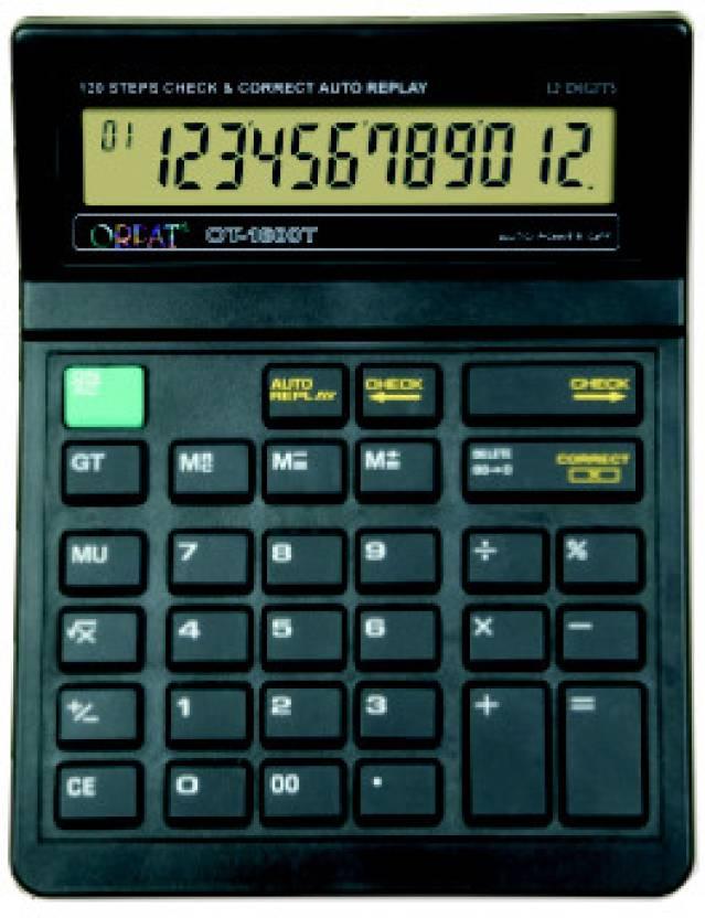 Orpat OT1600T Basic  Calculator