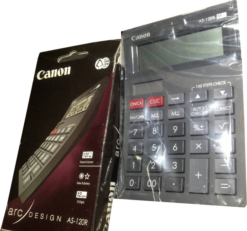Canon AS 120 R Basic  Calculator
