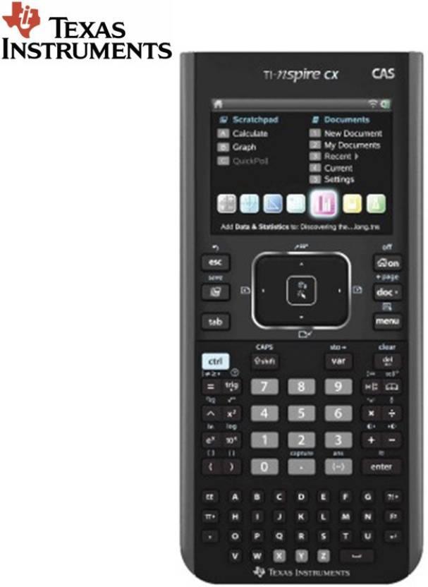 Texas Instruments TI-Nspire CX CAS Stealodeal TI-Nspire CX CAS Graphical  Calculator
