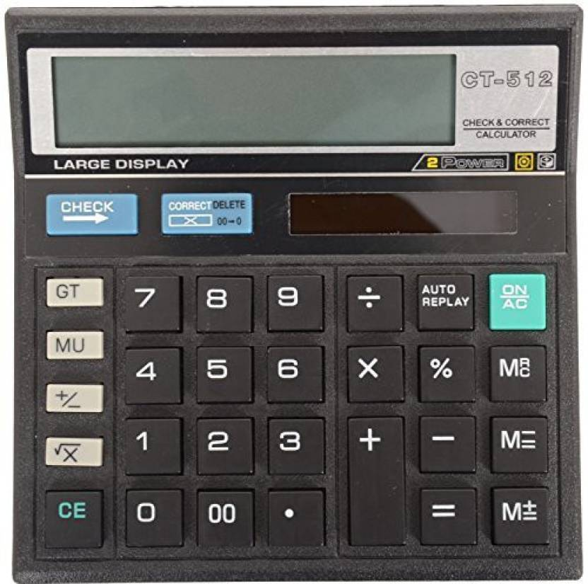 Scoria Ct 512 Calculator Basic 12 Digit