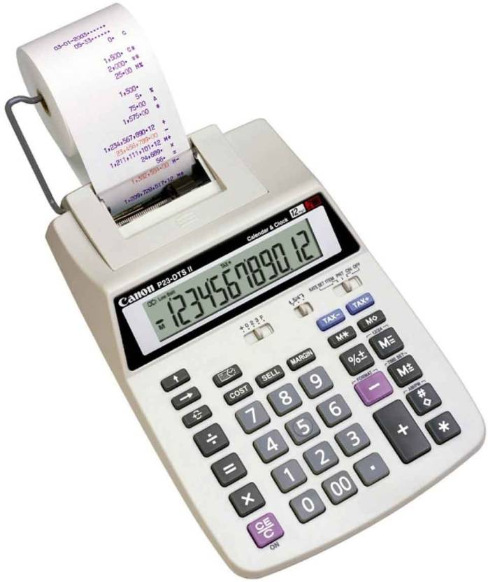 Canon P23 DTS V Printing  Calculator