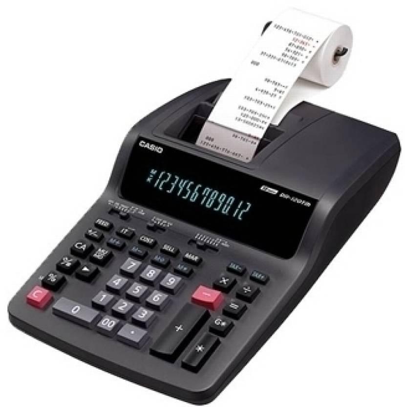 Casio DR 120 TM BK Printing  Calculator