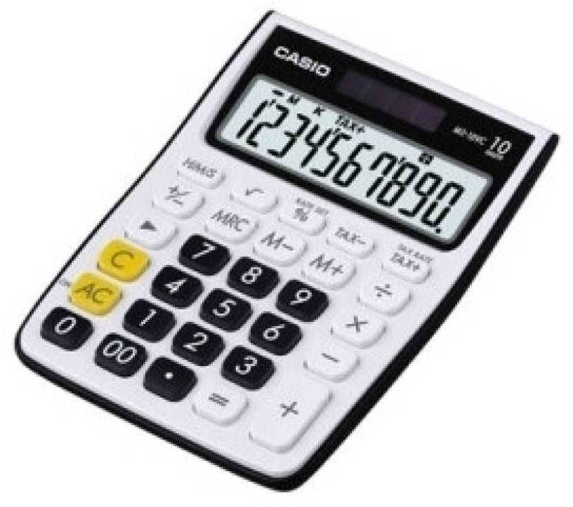 Casio MS-10VC-BK Basic  Calculator
