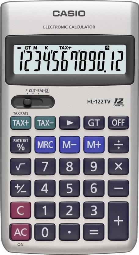 Casio HL-122TV Basic  Calculator