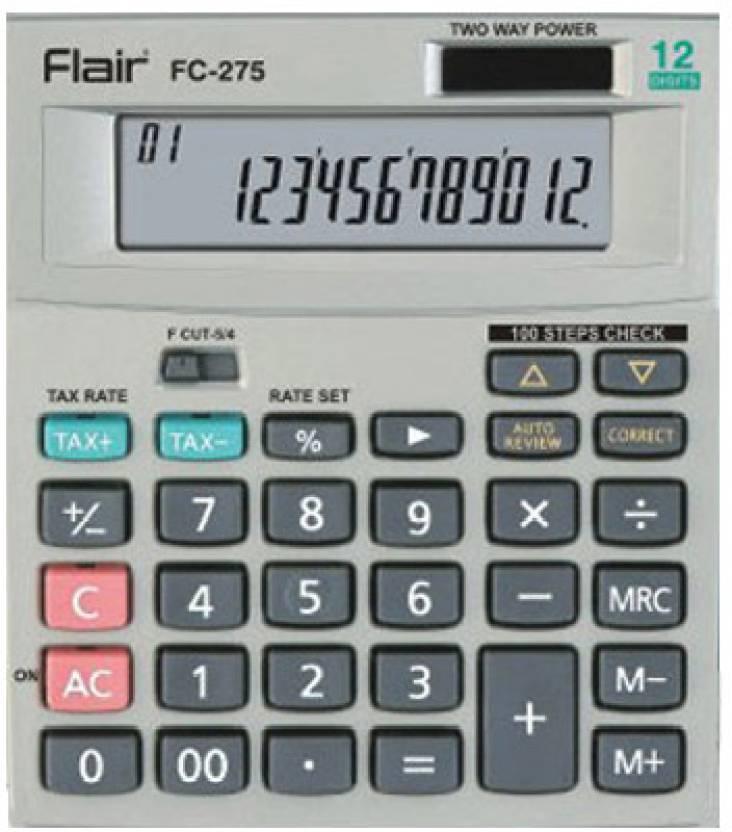 Flair FC - 275 Basic  Calculator