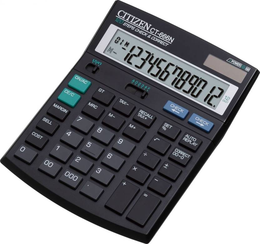 Citizen CT-666 Basic  Calculator