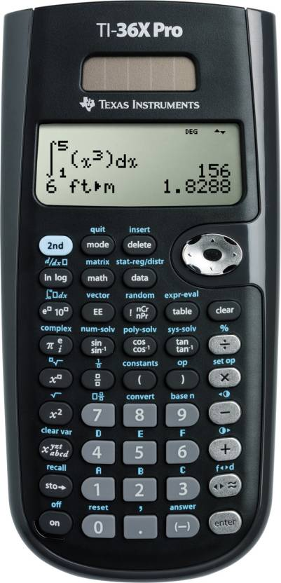 Texas Instruments TI 36X Pro Scientific  Calculator