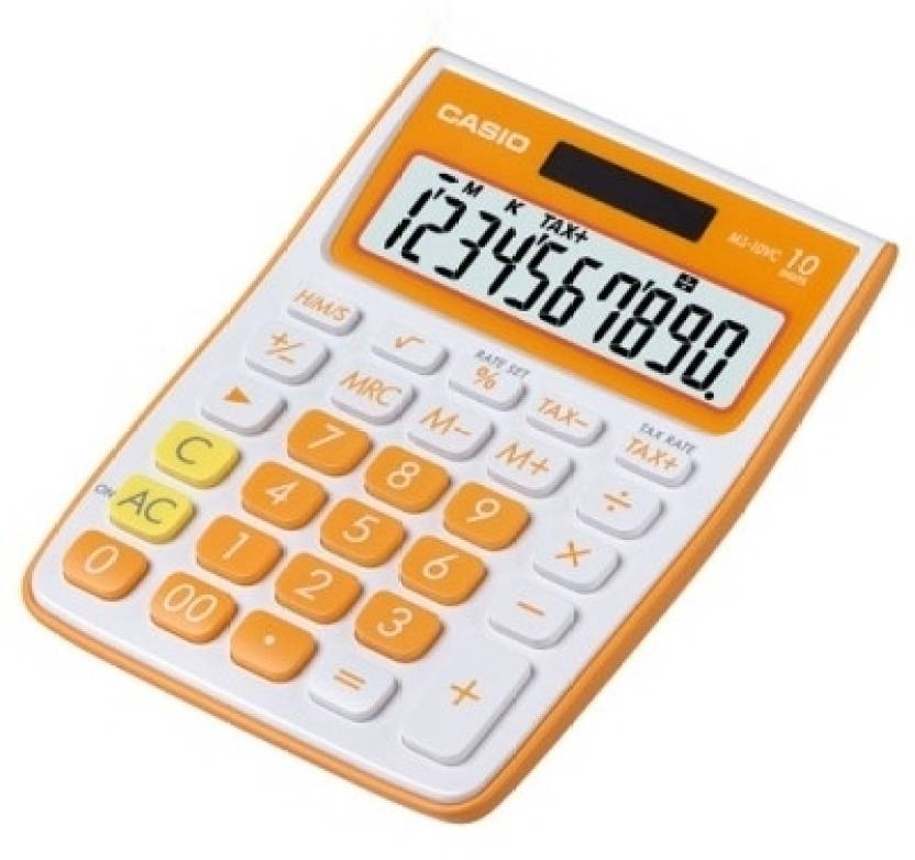 Casio MS-10VC-OE Basic  Calculator