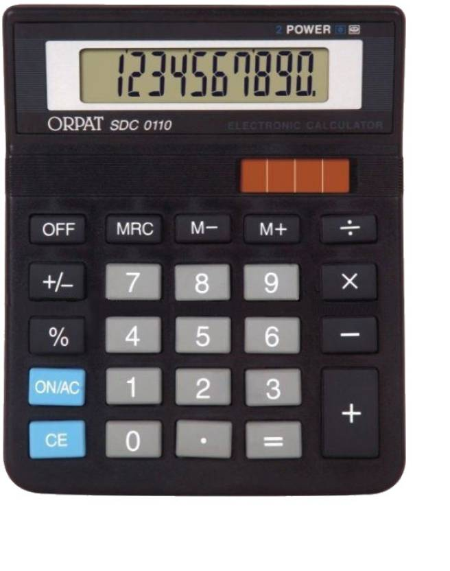 Orpat SDC0110 Basic  Calculator