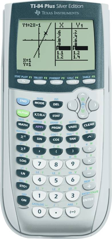 Texas Instruments TI-84 Sliver Graphical  Calculator