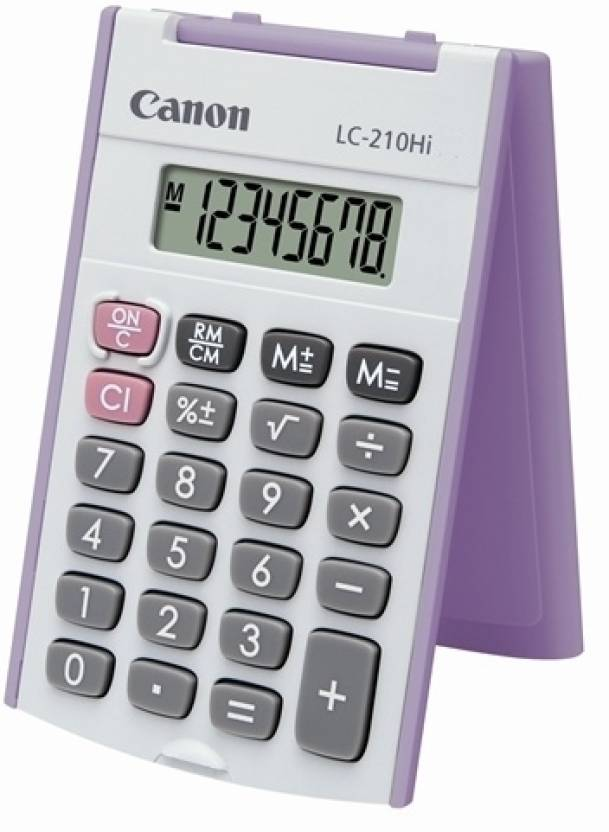 Canon LC-210Hi Purple Basic  Calculator