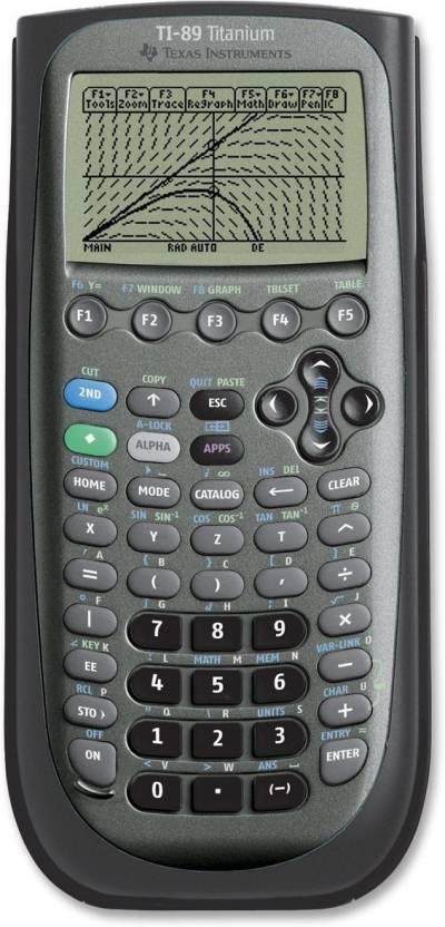 Texas Instruments TI-89 Titanium Graphical  Calculator