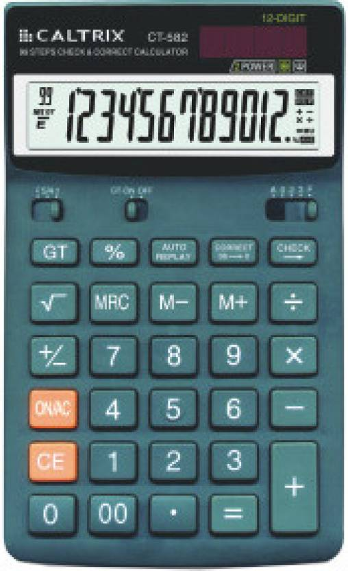 Caltrix CT-582 Basic  Calculator