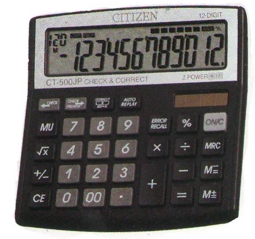 Citizen CT-500 JP Basic  Calculator