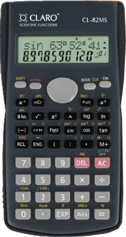 Claro CL - 82MS Scientific  Calculator