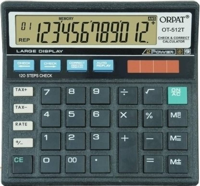 Orpat OT 512T Basic  Calculator