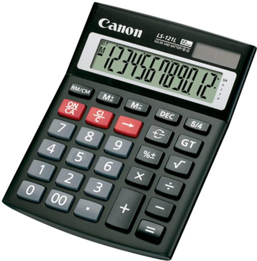 Canon LS-121L Basic  Calculator