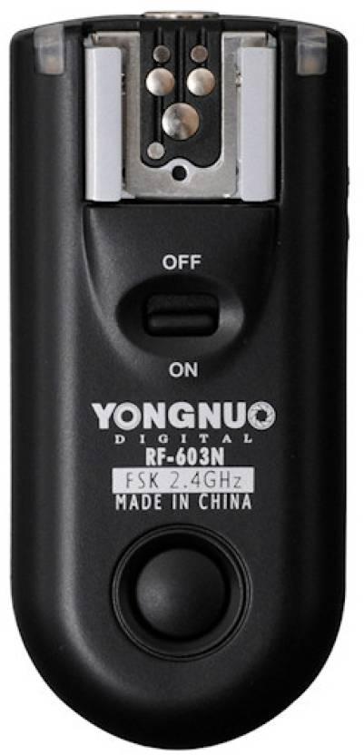 YONGNUO Flash Trigger RF-603 N1 (for Nikon))  Camera Remote Control