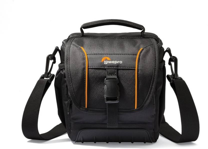 DSLR Camera Bags at Starting at Rs.699By Flipkart | Lowepro Shoulder Bag Adventura Sh 140 II Camera Bag (Black) @ Rs.1,398