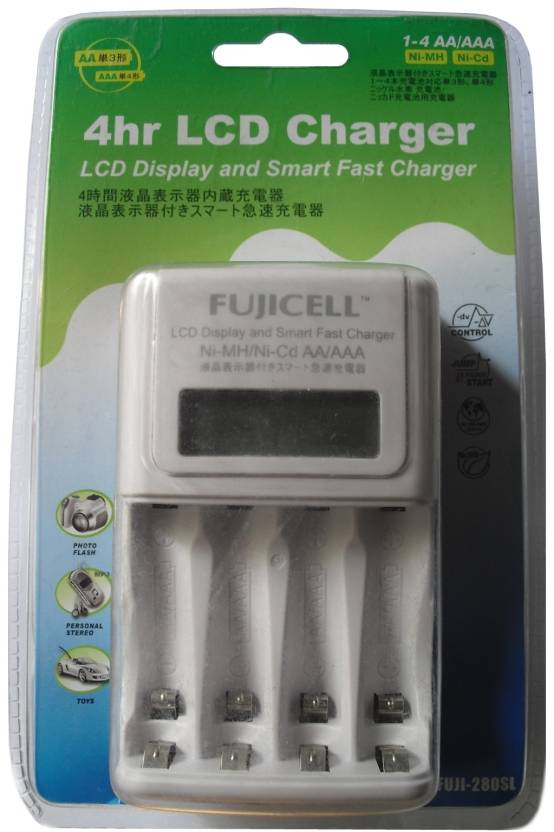 Fujicell 280SL with LCD  Camera Battery Charger