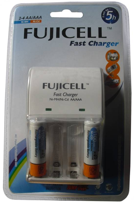 Fujicell BC 1002C Charger (With 2 NI-CD AA 1100MAH Batteries)  Camera Battery Charger