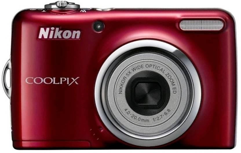 Nikon Coolpix L23 Point & Shoot Camera