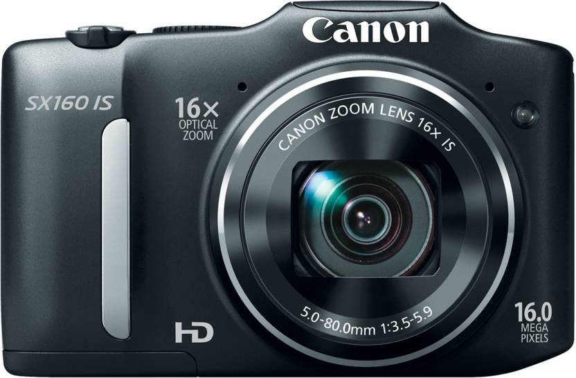 Canon SX160 IS Point & Shoot Camera