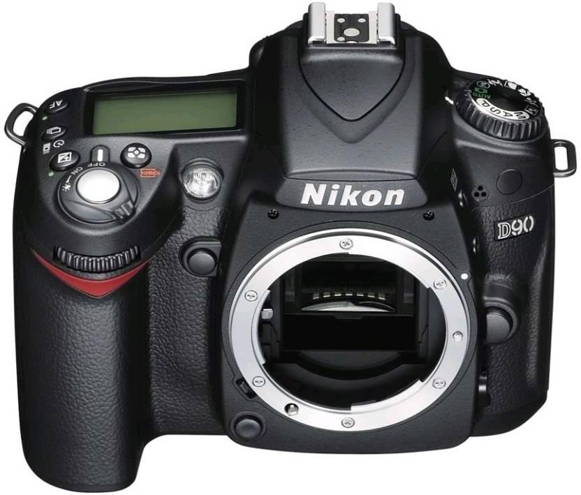 Nikon D90 DSLR Camera (Body only) Price in India - Buy Nikon D90 ...