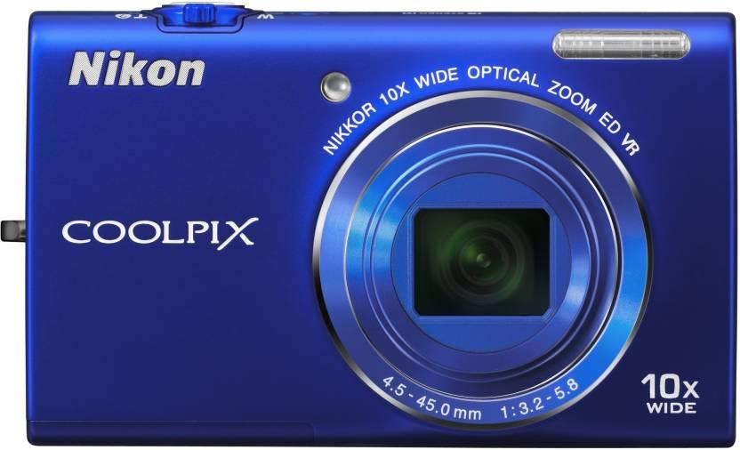 Nikon S6200 Point & Shoot Camera