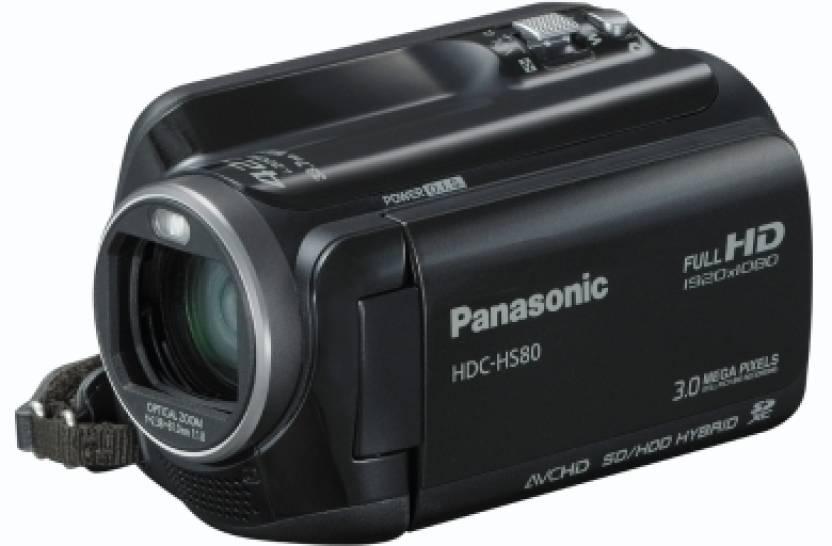 Panasonic HDC-HS80 Camcorder Camera