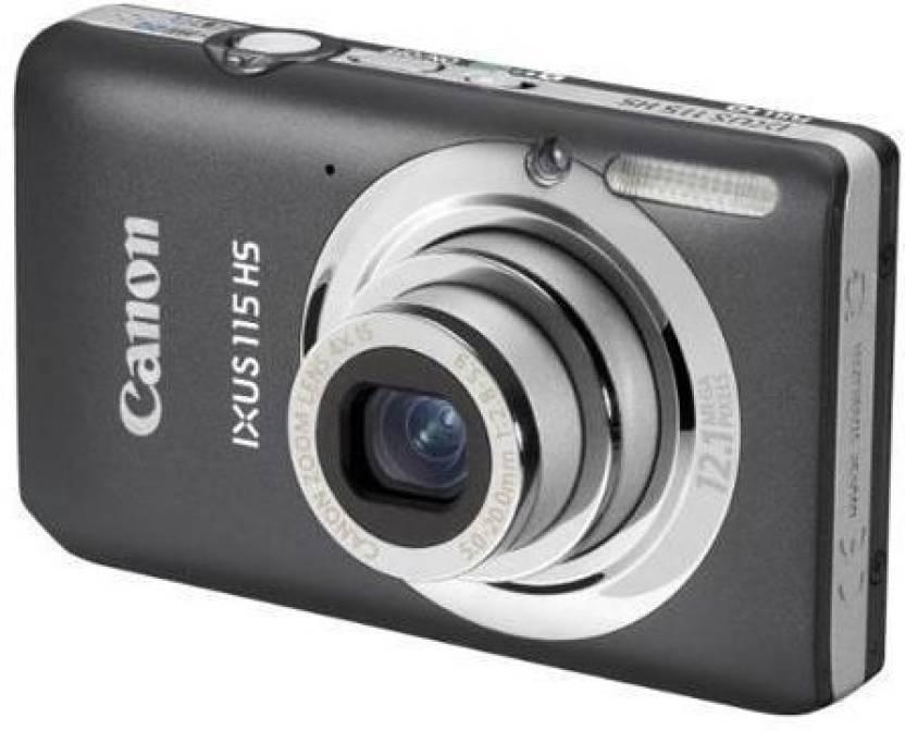 Canon IXUS 115 HS Mirrorless Camera