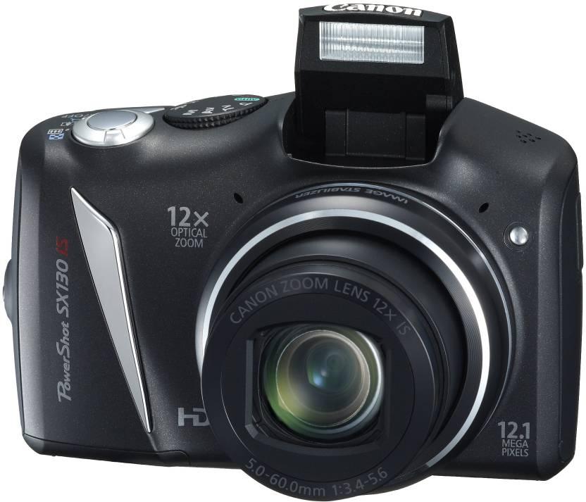 Canon Powershot SX130 IS Point & Shoot Camera