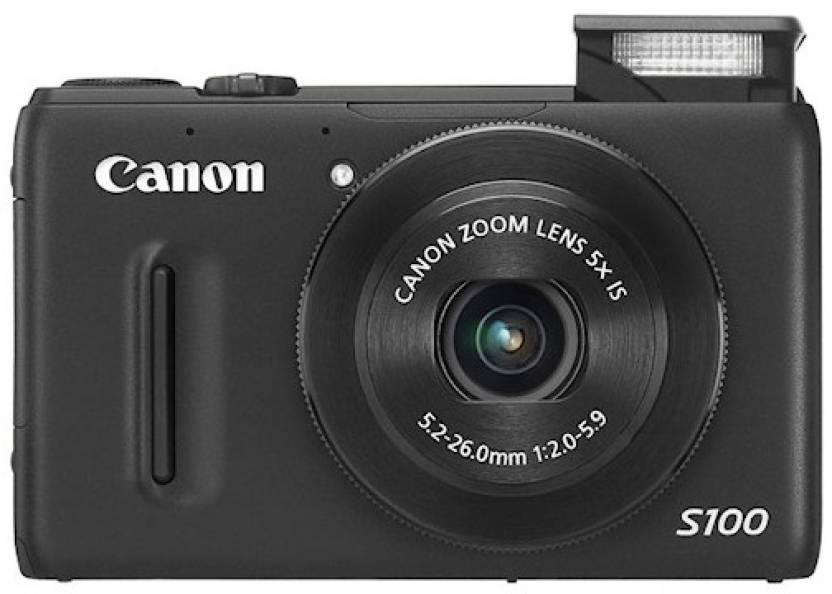 Canon PowerShot S100 Point & Shoot Camera