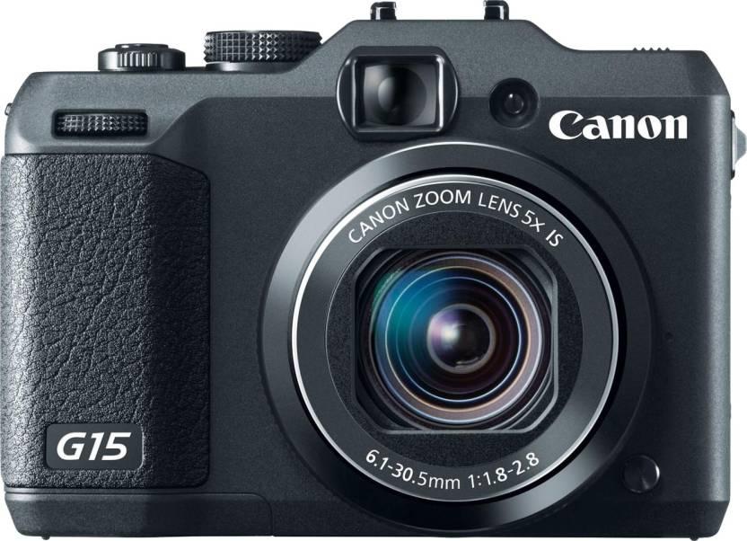 Canon G15 Point & Shoot Camera