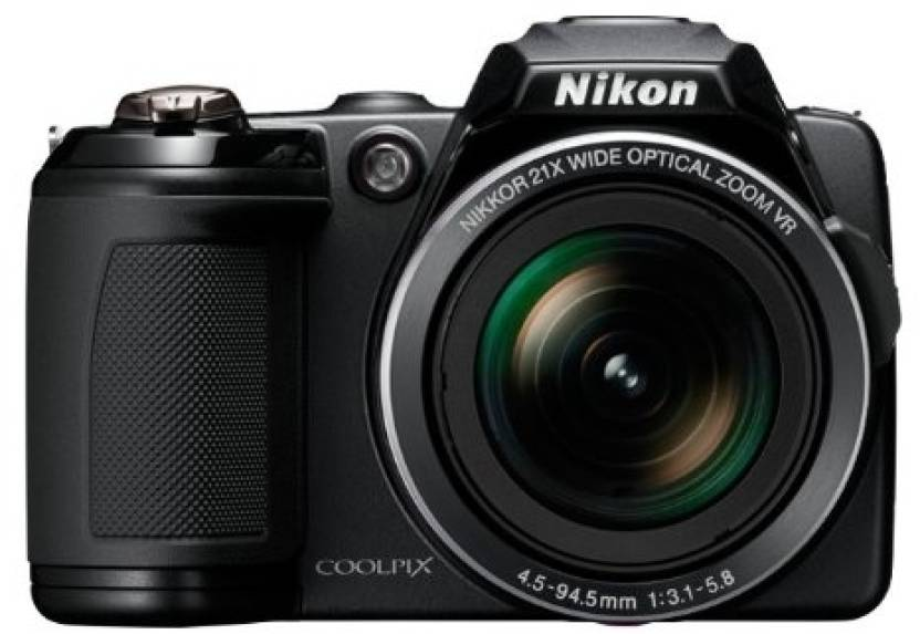 Nikon Coolpix L120 Point & Shoot Camera
